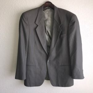 CHRISTIAN DIOR Olive Green Wool Blazer Jacket